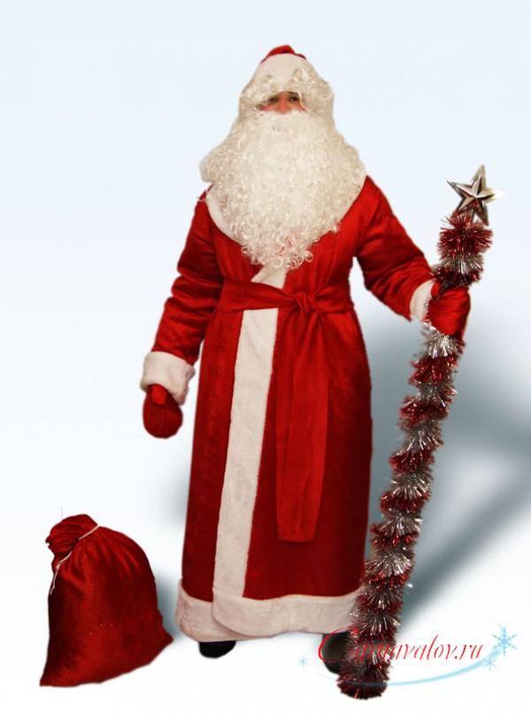 Купить недорогой Костюм Деда Мороза «2019» в Москве  скидки ... 9870c8645fe