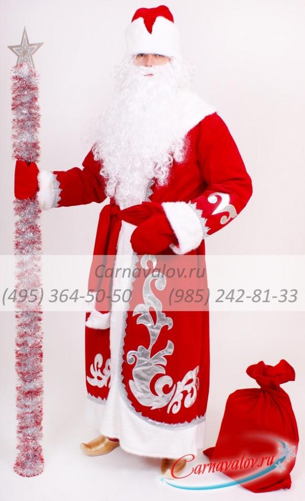 Купить недорогой Костюм Деда Мороза Княжеский в Москве  скидки ... 12d7d27dc19